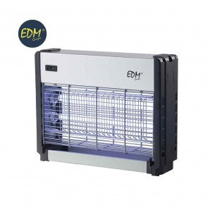 Mata insectos profesional electronico edm 2 x 8 w. radio de accion 20 m2 luz actinica medidas: 26x34x7.5cm  EDM 06012