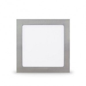 Led Downlight von Nickel satín Quadrat 225x225 18w 6000K GSC 704701