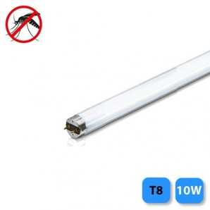 Tubo fluorescente T8 10W (luz actínica) mata insectos 33x1,6mm EDM 06026