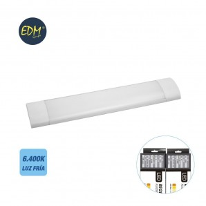 Screens and power strips, LED - 150cm 48w LED electronic strip cold light 6.400k 4200 lumens EDM