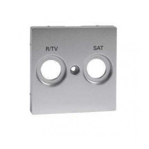 Comprar Caratula Toma R-TV/SAT Aluminio SCHNEIDER MTN299260 online