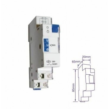 Minute staircase for DIN rail 16A GSC 0401239