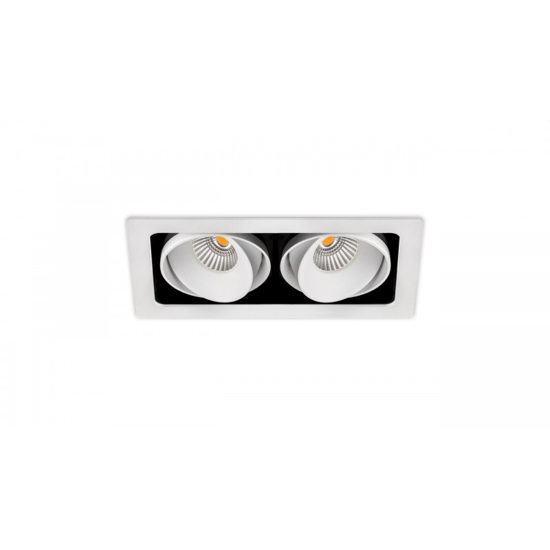 ARKOSLIGHT A2042222WT | Empotrable TWIST DOUBLE 1 7W DIM TR.EDGE FLOOD 4000K blanco