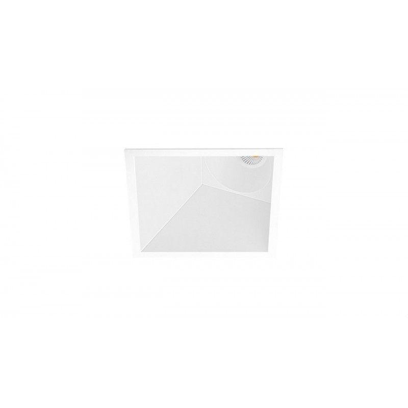 ARKOSLIGHT A3553230W | Empotrable SWAP SQUARE ASYM 7W DIM DALI/PUSH 2700K blanco
