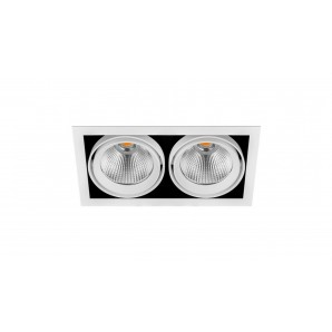 ARKOSLIGHT A2773132WT | Empotrable DUBBLE DOUBLE 3 FLOOD 40º 4K blanco texturizado