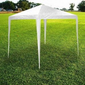 Umbrellas - Carpa blanca 3x3x2,5mts