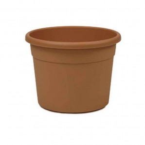 Pots and planters - Maceta inyeccion terracota ø 26x19cm exterior