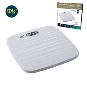 Bathroom scales - Scale bathroom digital base rough white max 180kg