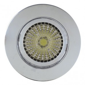 Downlight 631 GX5,3 12V 50W cromo brillo JISO 631D-11