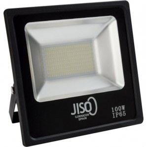 Proyector exterior 081 LED SMD 100W 4000K negro JISO 08100-2984-01