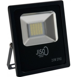 Proyector exterior 008 LED SMD 20W 4000K 1425lm negro JISO 00820-2984-01