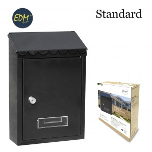 Mailboxes - Buzon In steel standard model black colour