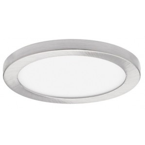 Downlight LED SMD empotrable 24W IP44 driver BOKE dimmable 1-10V/PUSH DALI 4000K níquel satinado JISO 56324-4784-12