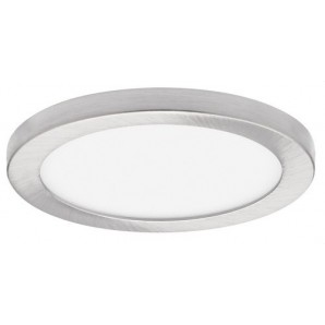 Downlight LED SMD empotrable 24W IP44 driver JISO 3000K níquel satinado JISO 56324-2983-12