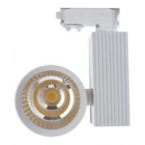 Downlight LED COB Track superficie 33W driver JISO 3000K blanco técnico JISO 10233-1963-90