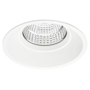 Downlight LED COB de ambiente 22W IP44 driver BOKE dimmable 1-10V/PUSH DALI 4000K blanco técnico JISO 51022-4754-90