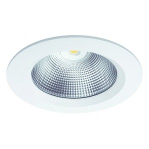 Downlight LED COB 11W IP65 driver BOKE dimmable 1-10V/PUSH DALI 3000K blanco técnico JISO 55011-4763-90