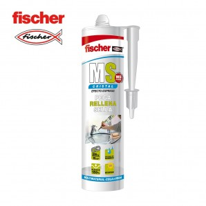 Adhesives and silicone - Ms sellante adhesivo cristal FISCHER 290ml