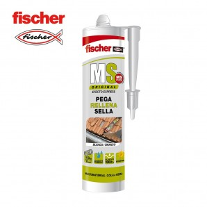 Adhesives and silicone - Ms sellante adhesivo blanco FISCHER 290ml