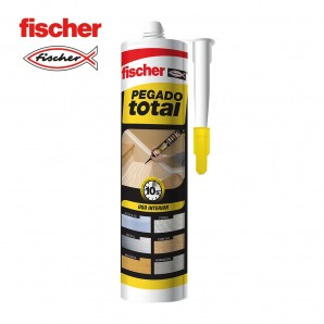 Adhesives and silicone - Pegado total 310ml FISCHER