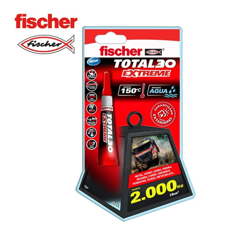 Blister total 30 extreme - 5gr FISCHER