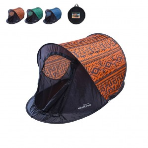Camping, beach accessories - Shop of campaign 220x120cm 1,25kg montage in 3 seconds (assorted colours)
