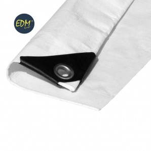 Sun visors - Awning 4x5mts double expensive white ojetes metal density 90gr/m2