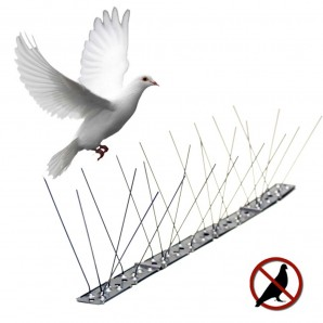 Kills insects - Disuasorio For birds inox 1mtr. Wands