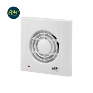 Exhaust fans bathroom - Exhaust fan 16W 118mm 180m3 timer