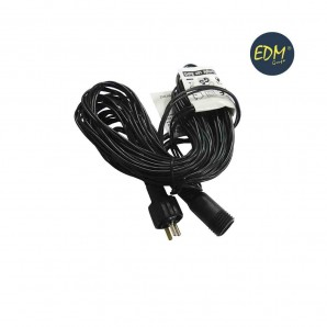 Extension Wire 5mts for guirnalda or curtain easy-connect (inner-external)