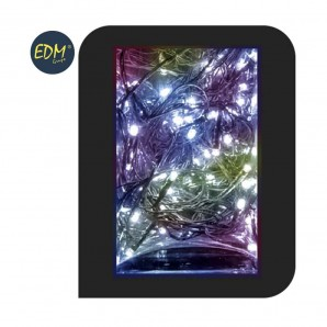Guirnalda luminosa easy-connect 4mts 60 leds multicolor 30v (ip44 interior-exterior)