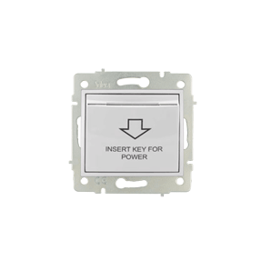 Solera europa - SOLERA ERP01T white screw terminal connection card switch