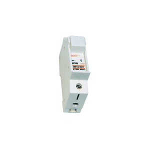 Fuse holder and fuses - Cylindrical fuseholder base DIN rail 1P PA66 / 10x38 / 32A SOLERA PF1038
