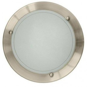 Round Ceiling Ceiling 1xE27 29cm satin nickel GSC 0,701,938