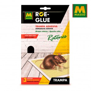 Repeller mosquito (candles and torches) - Roe-glue trampa adhesiva para ratones 3uni. massó
