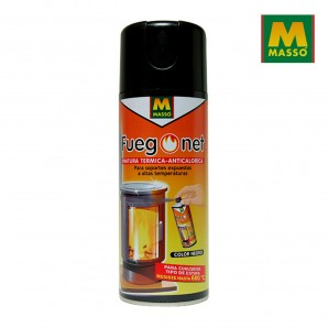 Barbecues and Accessories - Pintura anticalórica negra 400ml. fuegonet massó