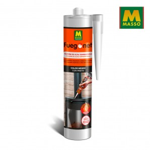 Barbecues and Accessories - Silicona refractaria 300 ml. fuegonet massó