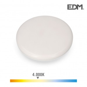Downlight led superficie/empotrable 24w 1680lm 4000k luz dia enclavamiento regulable edm