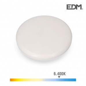 Downlights - Downlight led superficie/empotrable 24w 1680lm 6500k luz fria enclavamiento regulable edm
