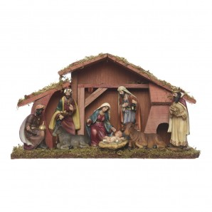 Decor and add-ons - Nacimiento belen 8 figuras 15cm