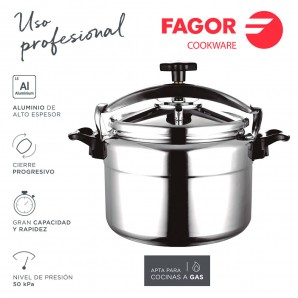 Kitchen utensils - Olla rápida chef extremen 15l  fagor