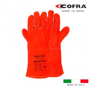 Security and clothing - Guante piel redfire talla 10 xl cofra