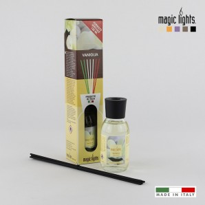 Home - Difusor aroma mikado vainilla 125ml. magic lights