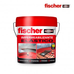 Sealants / adhesives / sealants / tapes - Impermeabilizante 4l rojo fischer