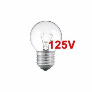 Incandescent bulbs 125V - Bombilla 125V esferica
