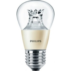Lámpara Master LED esférica 4W E27 clara dimable PHILIPS 45380300