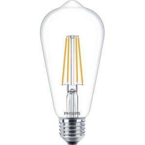 Lámpara CLA LEDBulb ND 7-60W E27 WW ST64 CL PHILIPS 74275400