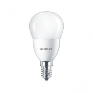Lámpara LED CorePro lustre ND 7-60W E14 865 P48 6500K mate PHILIPS 74687500