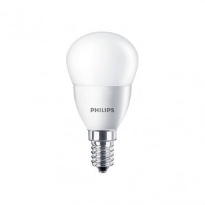 Lámpara esférica CorePro LED 3/25W E14 27K mate PHILIPS 54352800