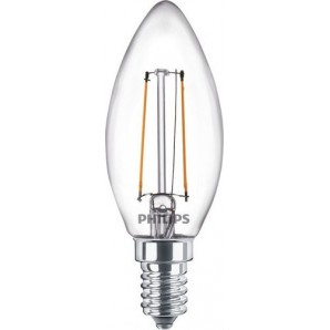 Lámpara CLA LEDCandle ND 2.2-25W E14 840 B35 CL PHILIPS 64819000